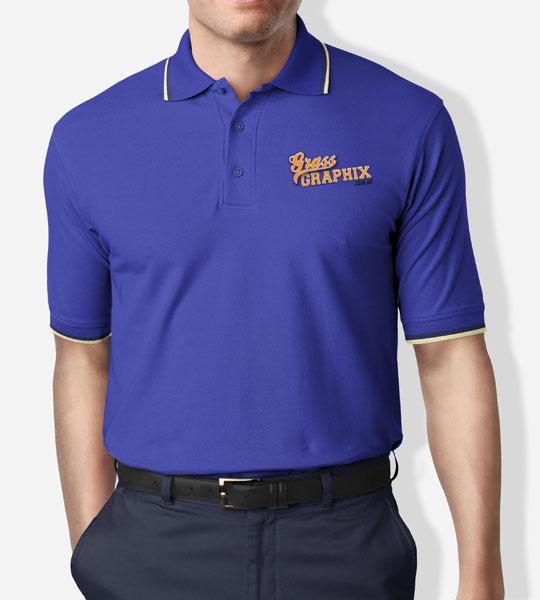 Grass Graphix Polo Shirt Merchandise