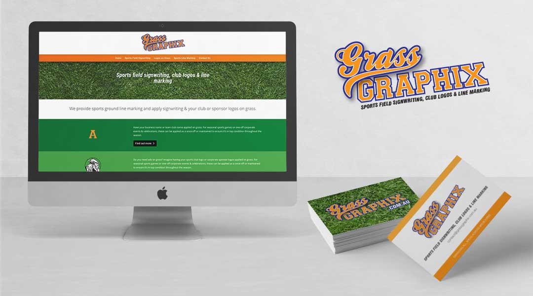 Grass Graphix website development
