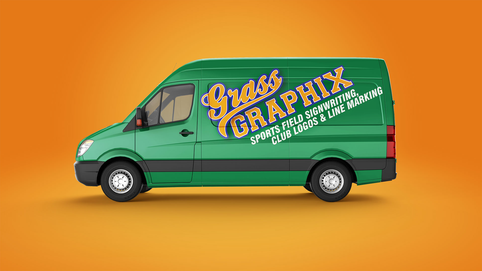 Grass Graphix complete branding project