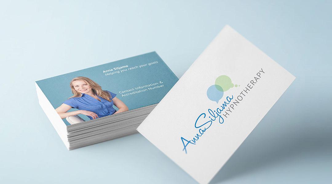 Anna Siljama Hypnotherapy branding and photography